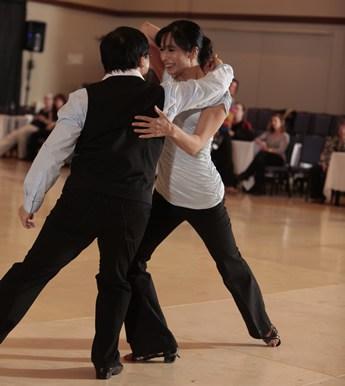 Shelley Saxena & Lewis Chan - ProAm West Coast Swing